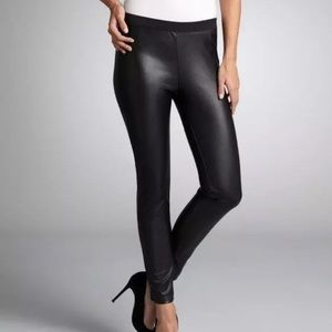 NWT Connection Faux Leather Leggings